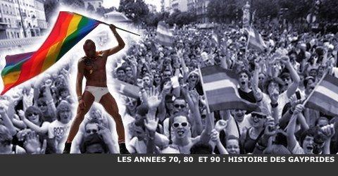 HISTOIRE DES GAY PRIDES